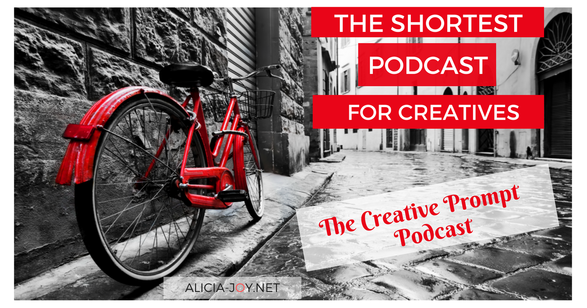 The Creative Prompt - The Shortest Podcast for Creatives