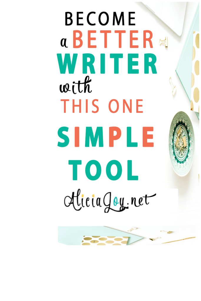 Become a better writer with this one simple tool