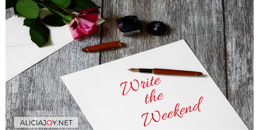 write the weekend