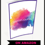 image of book: the writer's journal with text below reading: on amazon
